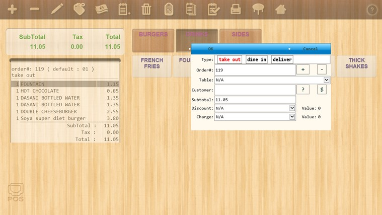 Mobile POS screen shot 5