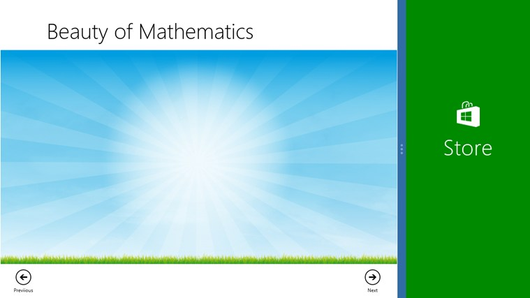 Beauty of Math screen shot 1