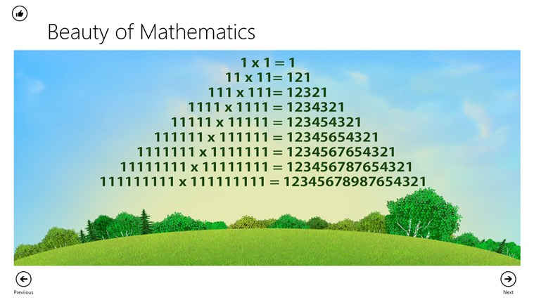 Beauty of Math screen shot 3