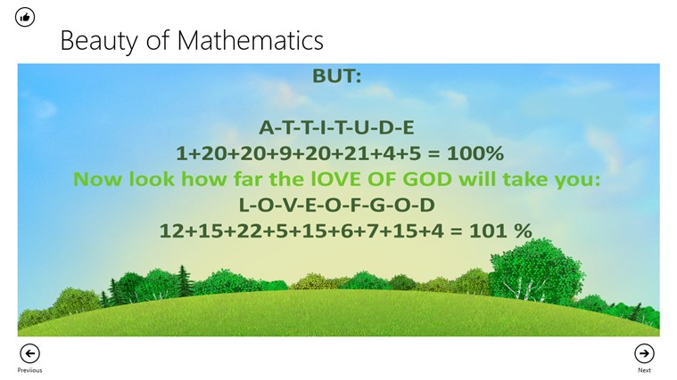Beauty of Math screen shot 5