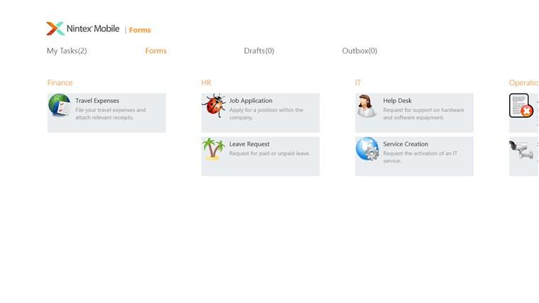 Nintex Mobile screen shot 3