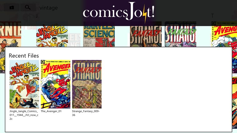 comics Jolt! screen shot 5