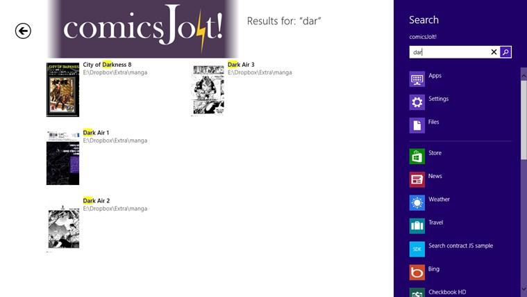 comics Jolt! screen shot 7
