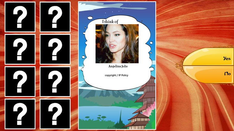 Akinator screen shot 3