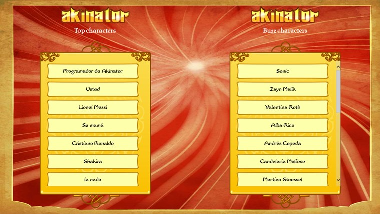 Akinator screen shot 5