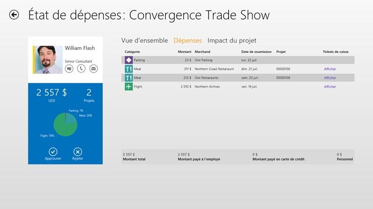 Dynamics AX 2012 Approvals capture d'écran 3