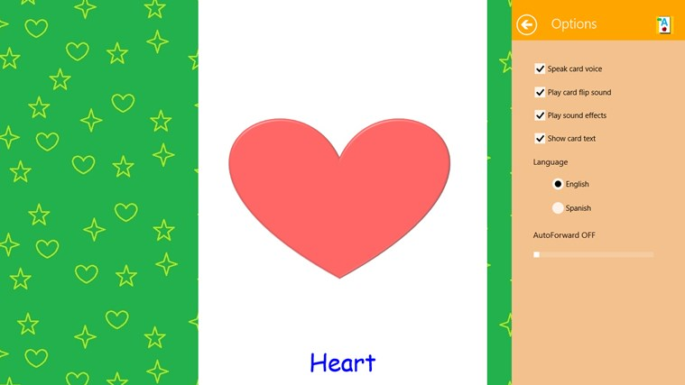 Voice Toddler Cards screen shot 7