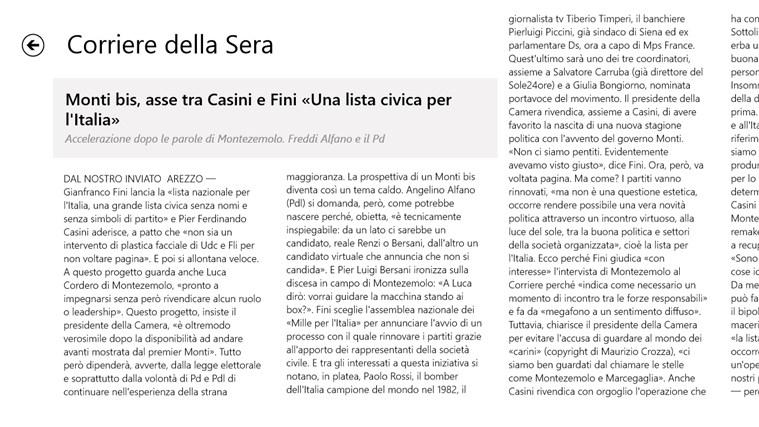 Corriere Della Sera - Digital Edition cattura di schermata 3