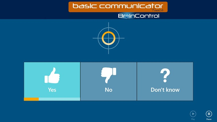 BrainControl - Basic Communicator Touch screen shot 3