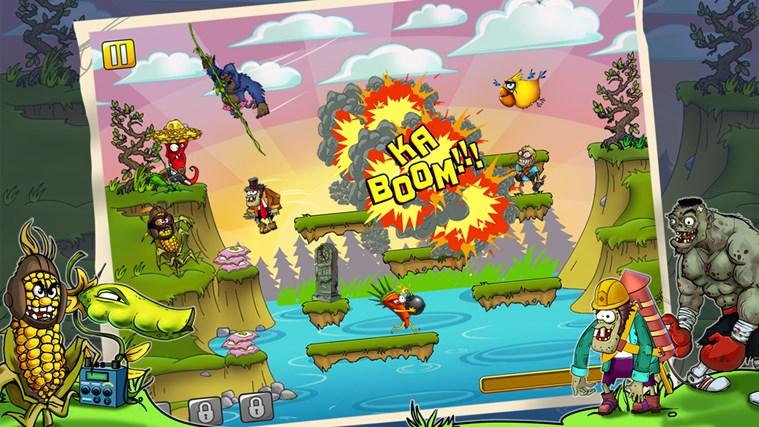 I Am Vegend: Zombiegeddon screen shot 1