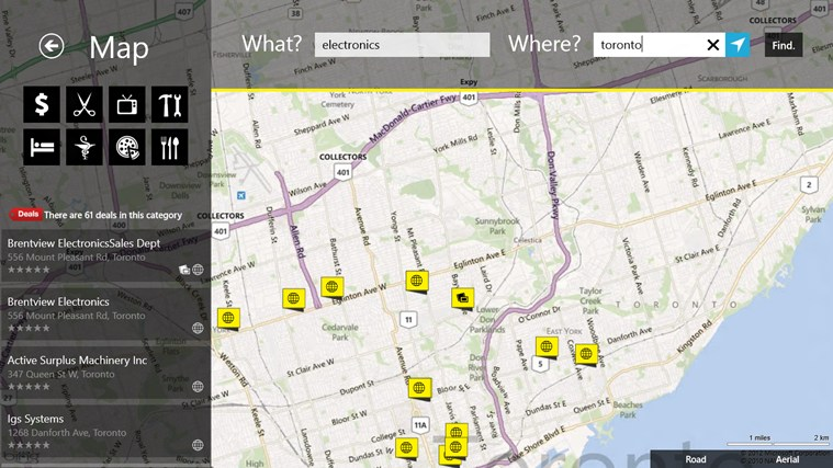 Yellow Pages Canada screen shot 1