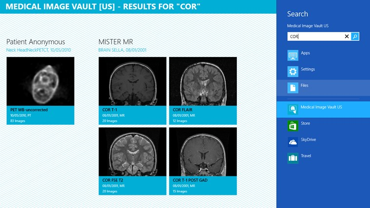 Medical Image Vault screen shot 1