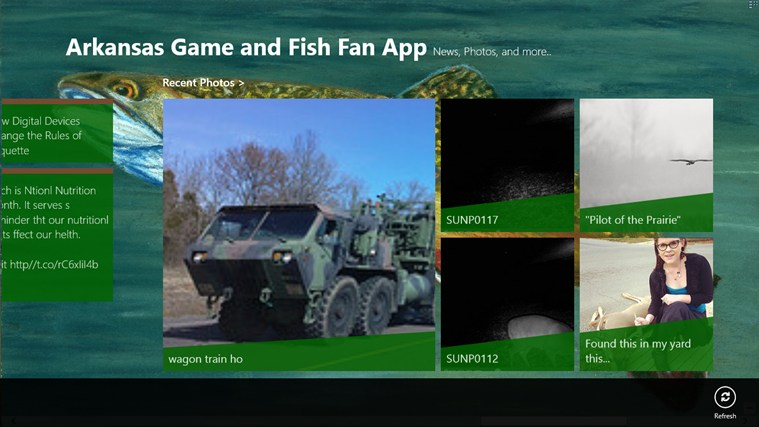 Arkansas Game and Fish Fan App screen shot 3
