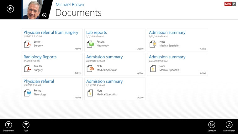 SAP EMR Unwired screen shot 7