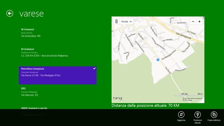 Distributori Metano in Lombardia cattura di schermata 1