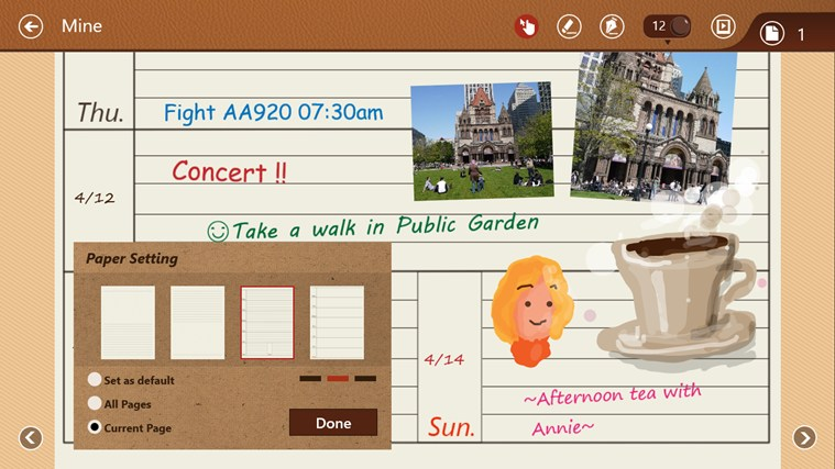 NoteLedge - Note, Sketch, Audio & Video screen shot 1
