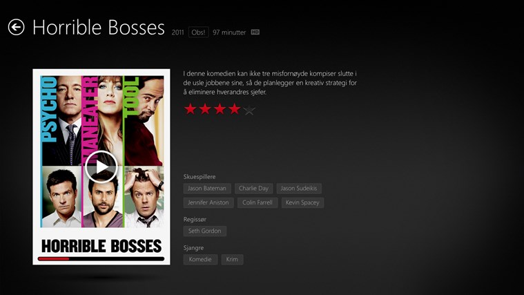 Netflix skjermbilde 1