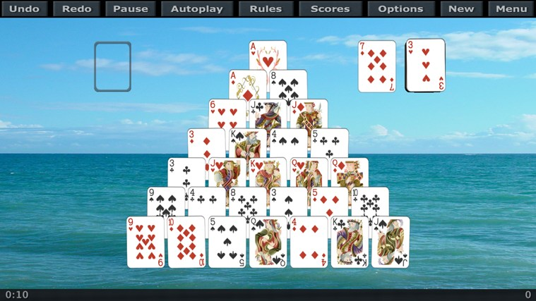 Application Solitaire 3D pour Windows dans Windows Store: apps.microsoft.com/windows/fr-ca/app/solitaire-3d/45b77f00-63e8...
