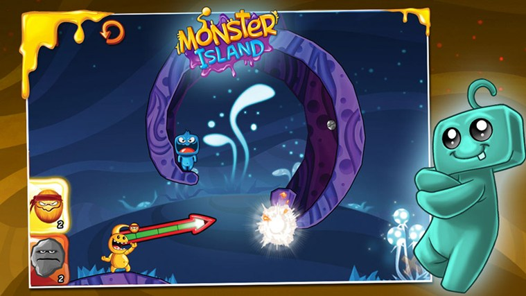 Monster Island screen shot 1