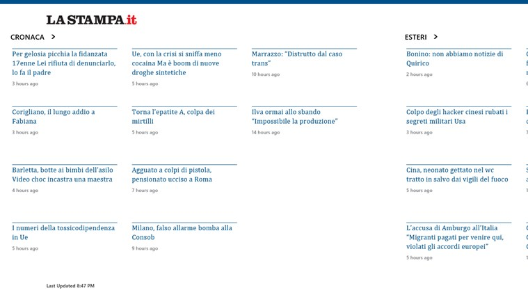 LaStampa.it cattura di schermata 1