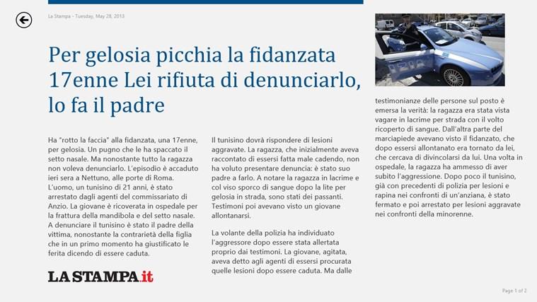 LaStampa.it cattura di schermata 3