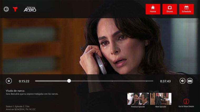 Telemundo NOW screen shot 1