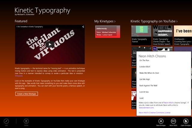 Kinetic Typography screen shot 7