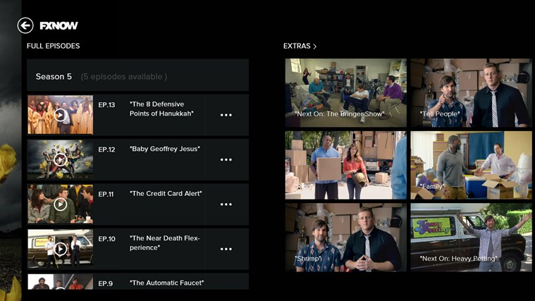 FXNOW screen shot 3