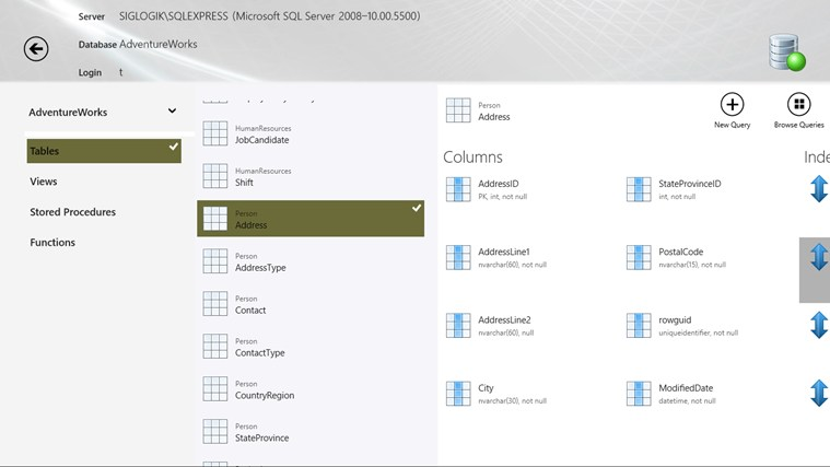 SQL Server InTouch captura de pantalla 1