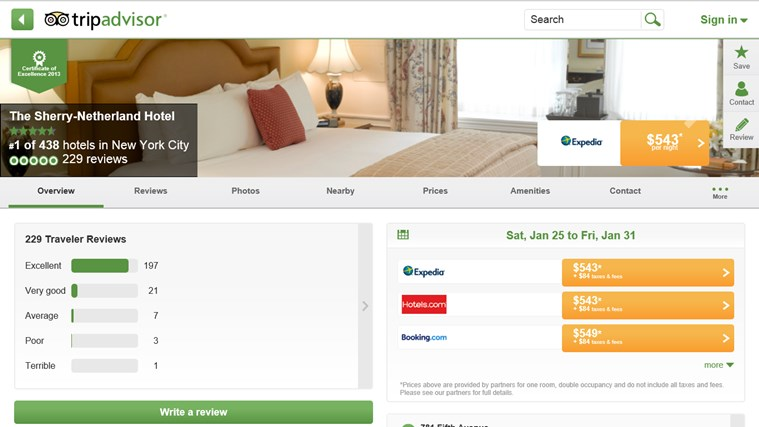 TripAdvisor Hotels Flights Restaurants screen shot 3