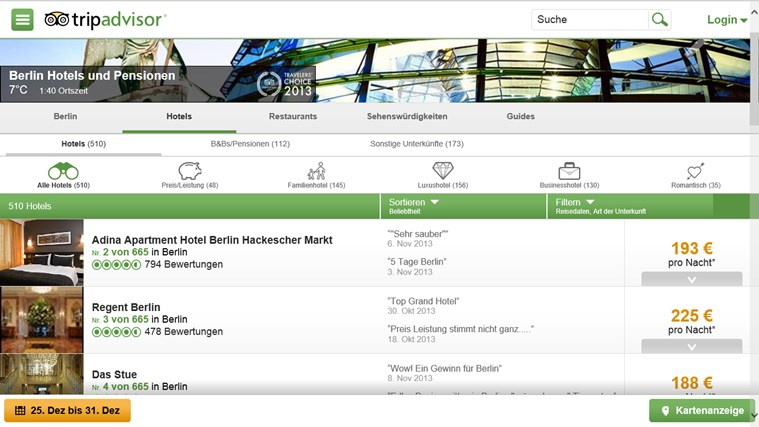 TripAdvisor Hotels Flights Restaurants Screenshot 1