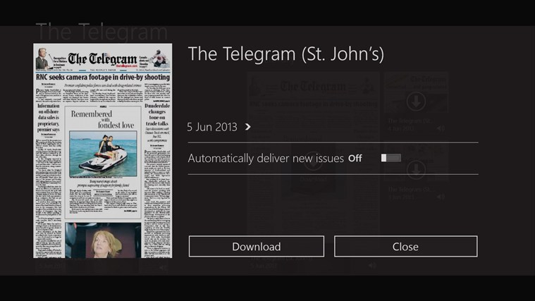 The Telegram screen shot 1