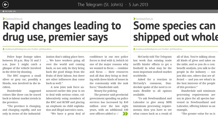 The Telegram screen shot 3