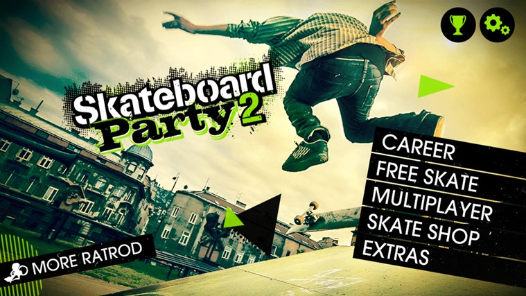 Skateboard Party 2 screen shot 1
