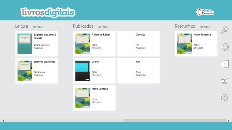 Livros Digitais captura de tela 7