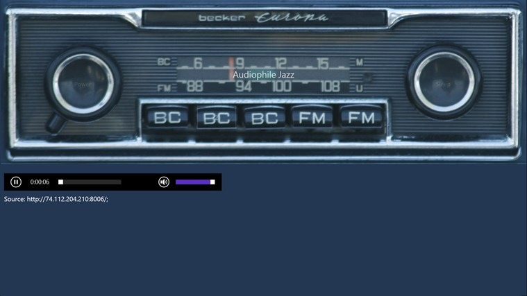 Car Radio screen shot 1
