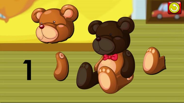ABC Kids et comptage Jigsaw Puzzle jeu - apprendre les formes de numératie alphabet et nombres adapté aux tout-petits et enfants en âge scolaire pré capture d'écran 1