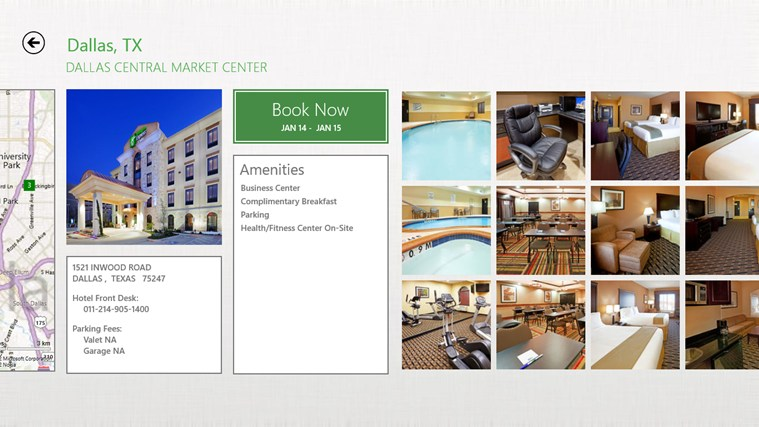 Holiday Inn screen shot 3