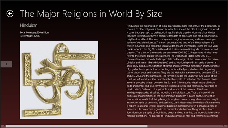 the three major religions Major religious groups which represented the three abrahamic religions as different nations or sects within religion itself of major religions.