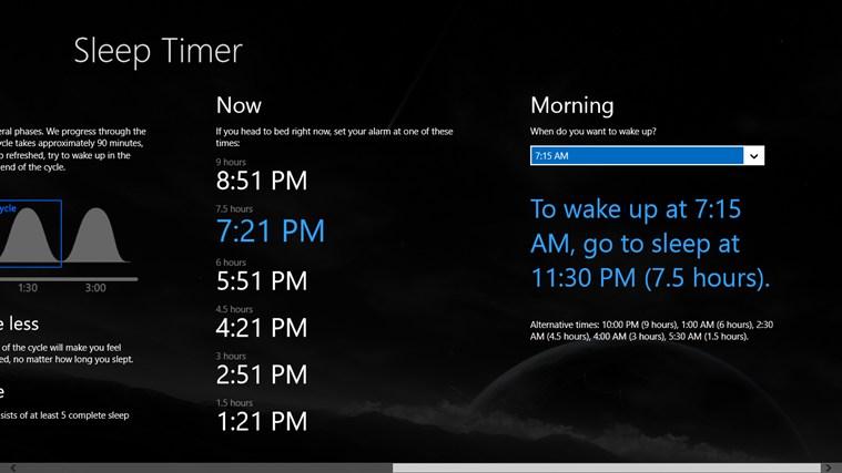 Sleep Timer screen shot 1