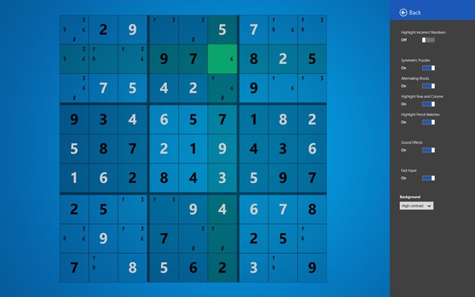 Sudoku Touch screen shot 7