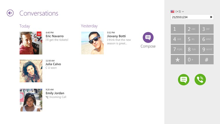Viber - Free Phone Calls & Text screen shot 1