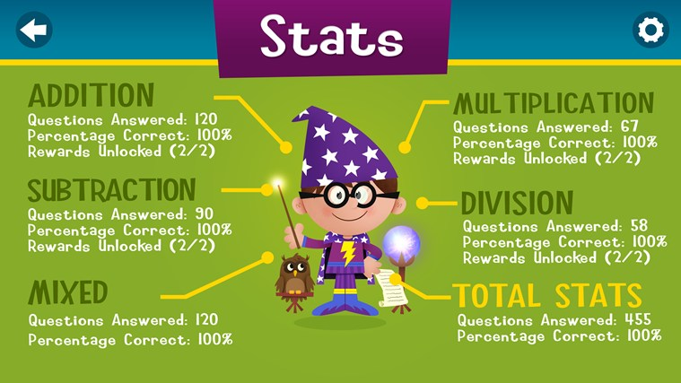 Magic Math screen shot 7