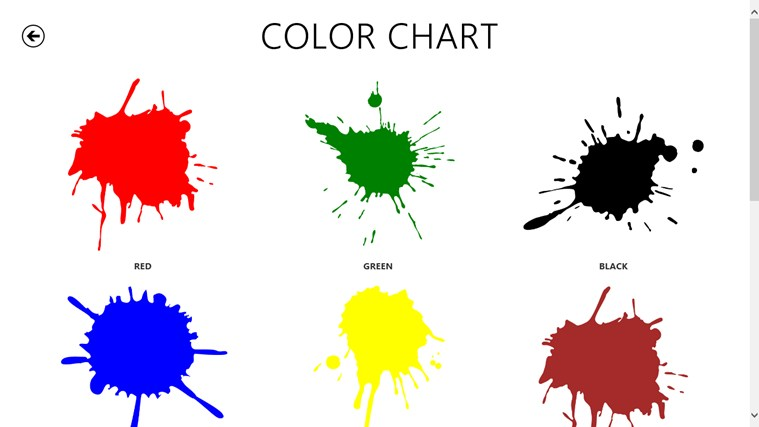 Color Chart For Preschoolers Ibovnathandedecker