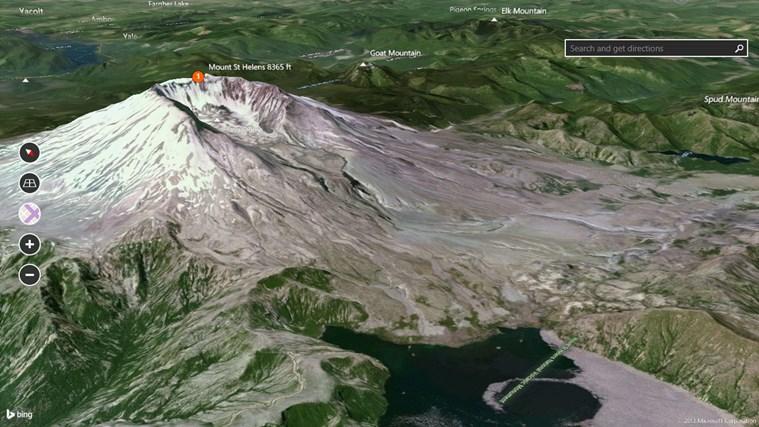 Bing Maps Preview screen shot 5