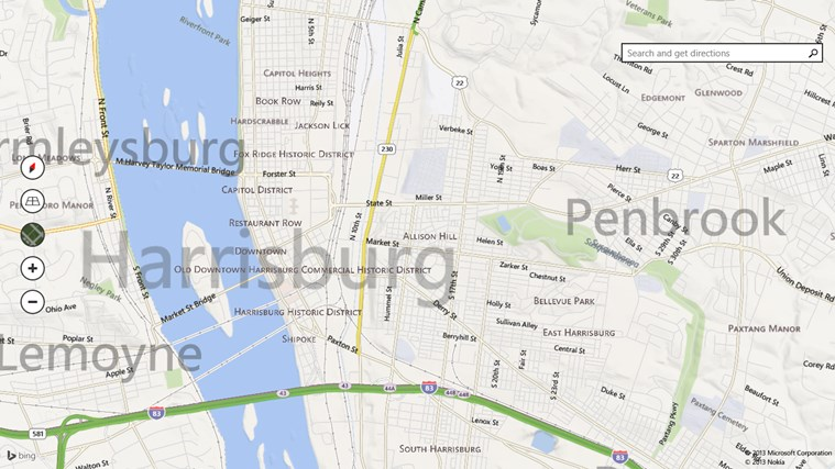 Bing Maps Preview screen shot 7