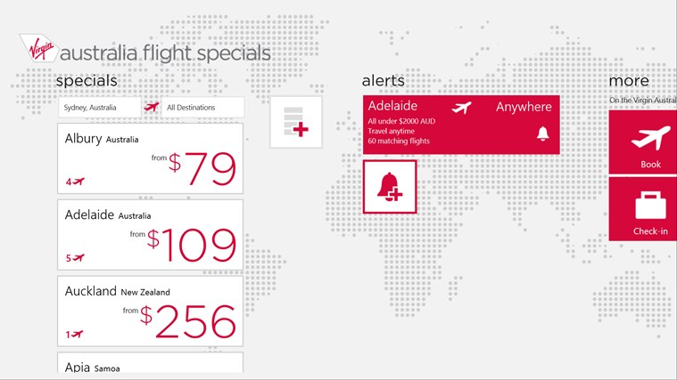 Flight Specials screen shot 1