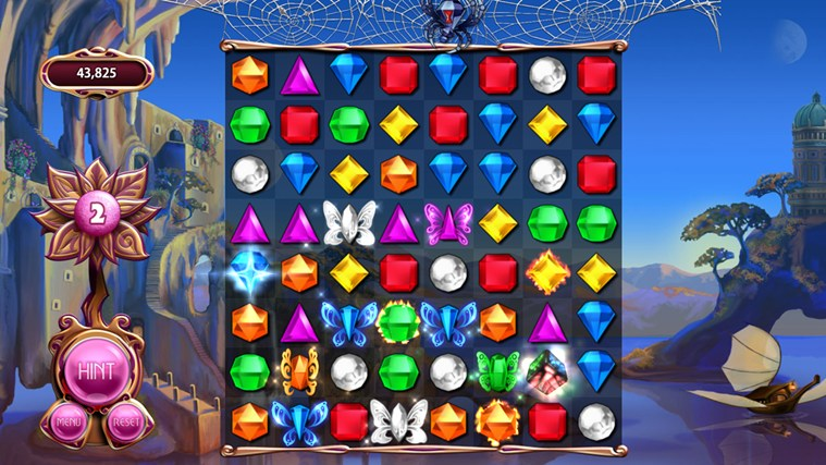 Bejeweled LIVE captura de pantalla 1