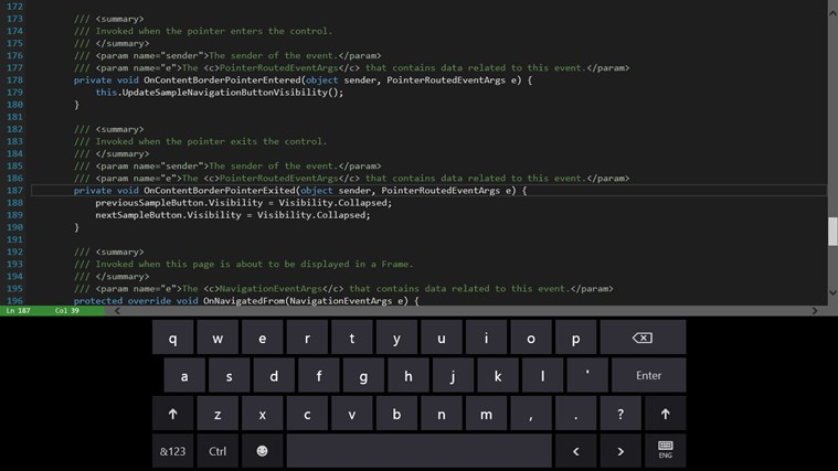 Code Writer screen shot 7