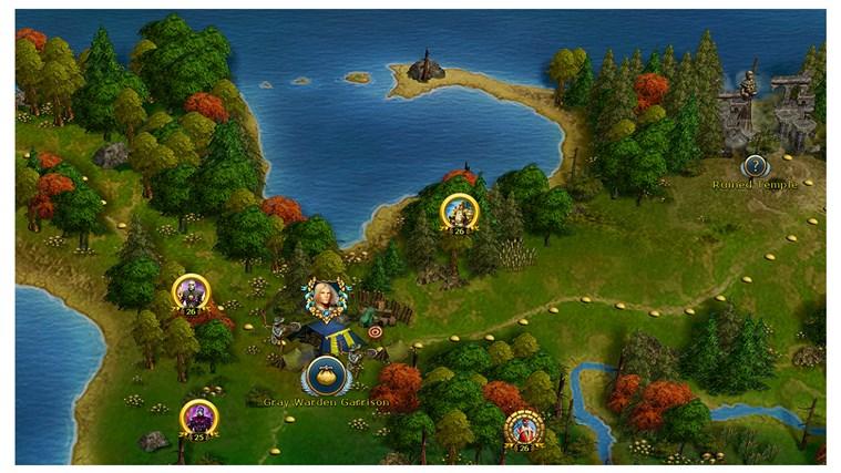 King's Bounty: Legions screen shot 5